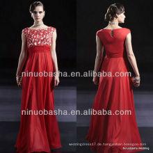 E0004 Chiffon Abendkleid / bodenlangen Partykleid Brautkleid