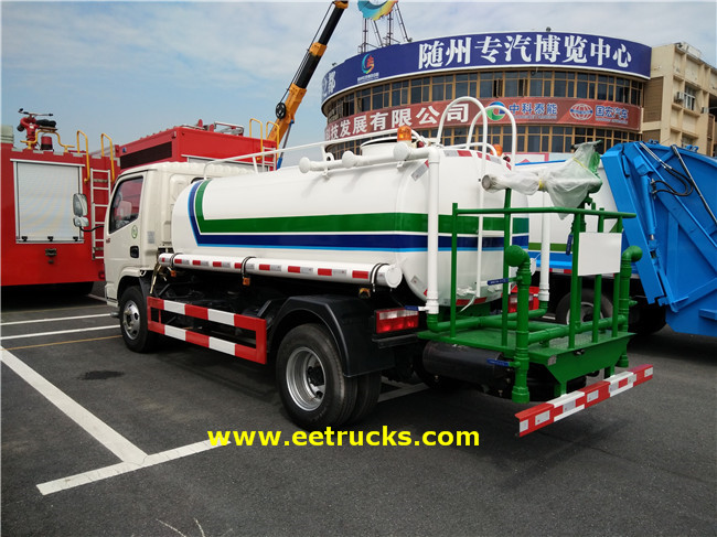 Mini Water Tanker Vehicles