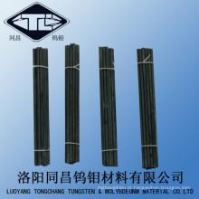 Haste de tungstênio preto de alta pureza e barras de tungstênio W-1