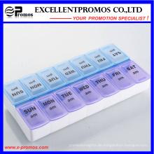 Zwei Wochen Hochwertige Logo Kundenspezifische Pillbox (EP-036)