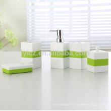Personnalisé logo accessoire de mode complet salle de bain ensemble chine