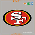 SF 49ers hot fix iron on rhinestone transfers