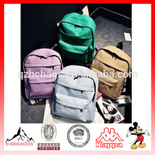 High Quality Canvas School Backpack for Sale School Bags Prices