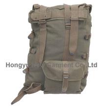 Новый моды Открытый мужской военный коричневый рюкзак (HY-B070)