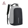 Laptop anti-theft USB charging polyester backpack bag