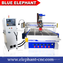 ELE-1325 atc cnc enrutador multi carpintería máquina con alta velocidad
