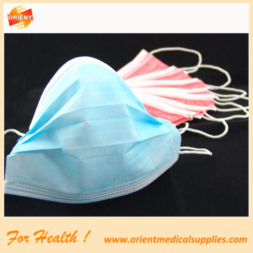disposable non woven 3-ply face mask