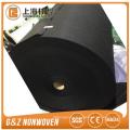Hoja de parche no tejido de fibra de charcaol de bambú negro