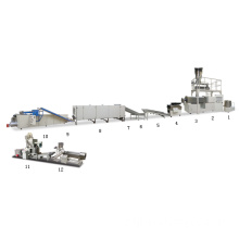 Bugles solid/3-D extrusion food process line