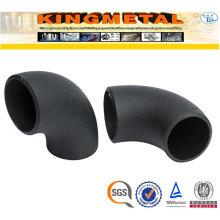 Coude d'assemblage de tuyau d'acier au carbone A234 Wpb 4 pouces 90d
