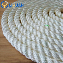 3 strand polyester mooring rope
