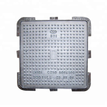 Ductile iron well cover square rainwater  sewer valve manhole  cellar well cover