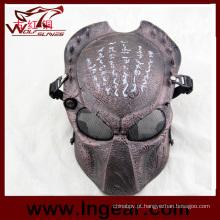 Máscara facial Ziz01 predador máscara máscara de Wargame tático