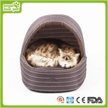 Cama de cão artesanal, cama de casa de cão indoor (hn-pH556)