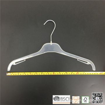 Simple Basic Plastic Teens Clothes Shirt Hanger