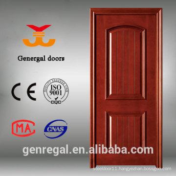 CE Latest Design Veneer Composite solid Wood Door