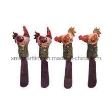 Декоративная ферменная петушиная машина для разбрызгивания масел, нож для носков петуха