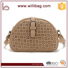Lady Shoulder Bag New Design Trend Oval Messenger Bags For Woman