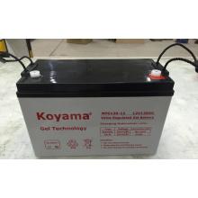 Кояма Стабилизированное Качество Загерметизированная свинцовокислотная батарея геля с длинной жизнью --Npg120-12А (12V120AH) с конкурентоспособной ценой
