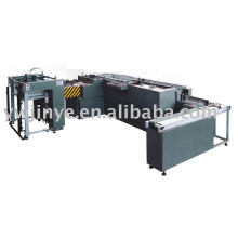 Poker card slitting and collating machine
