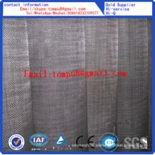 Malla de tela de tela de alambre de hierro para filtrar