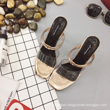 2017 New fashion crystal women sandal high heels shoes lady dress shoes party wedding