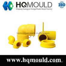 Moulage par injection de réglage de tuyau en plastique de Hq