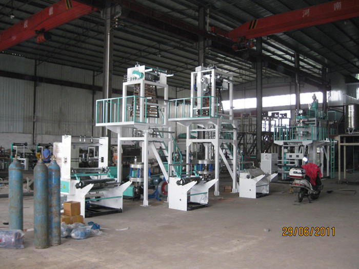 Single Layer Film Blowing Machine