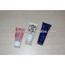 Tubo de crema cosmética de plástico para envasado