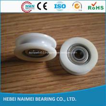 6001zz bearing nylon cable pulley wheels v bearings