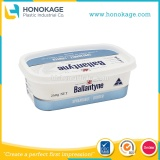 250g Cream Cheese Spread Tub Supplier, Light Cream Cheese Spread Container