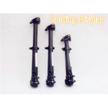 Folding bicycle single double-shoulder folding handlebar riser stem 420mm