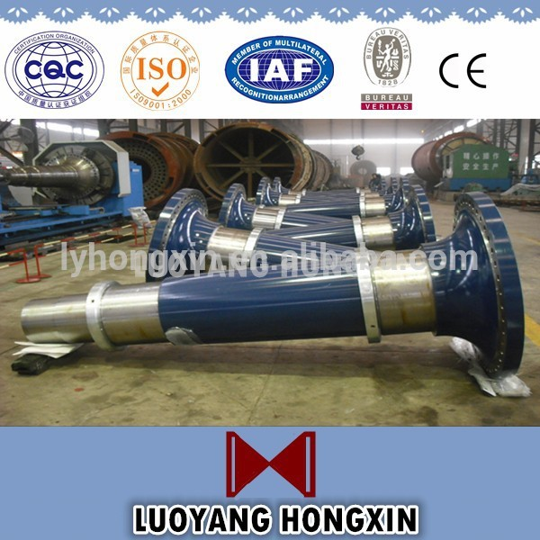Customized 4140 Steel Forging Shaft For Mining