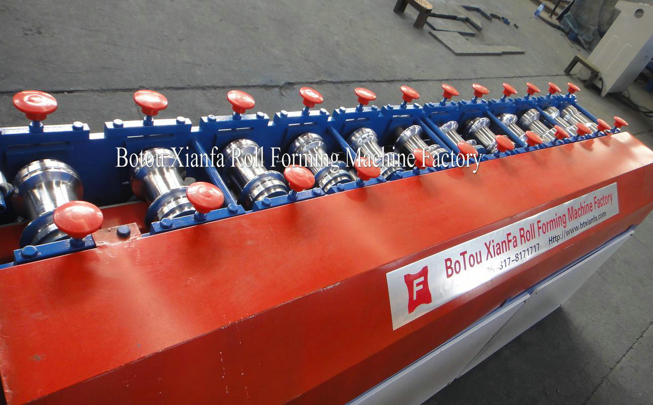 rolling shutter door machine