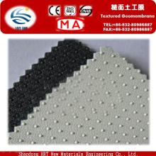 Geomembrana de HDPE de una sola cara para rellenos sanitarios