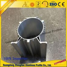 Radiateur de usinage de commande numérique par ordinateur adapté aux besoins du client pour l'éclairage de LED avec de bonnes performances de dissipation de chaleur