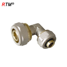 L 17 4 8 brass compression fittings for pex al pex pipes for pex pipe compression pipe fitting