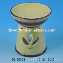 Quemadores de aceite decorativos baratos para velas de tealight para la decoración del hogar