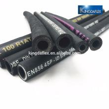 Manguera hidráulica de trenza de alambre de acero R1 R2