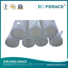Sac de tissu de purificateur de filtre de l'eau de 5 microns pp