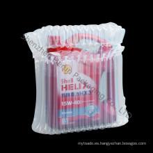 Bolsa de aire de plástico para embalaje de detergente de lavandería