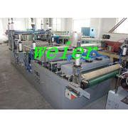 WPC Board / Panel Hot Stamping Machine Plastic Auxiliary Eq