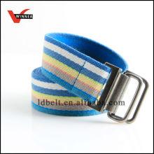 Cintos de lona padrão com tira azul com venda quente