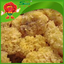 Vente en gros de champignons blancs séchés pour la beauté de la peau Tremella séchée comestible