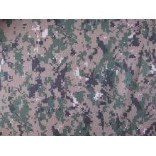 Полиэфирная печать 600d Оксфордская цифровая камуфляжная ткань для военных