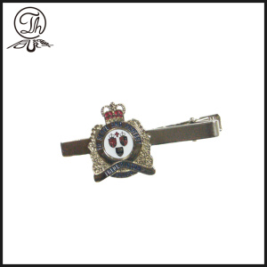 Royal Crown tie bar clip prata