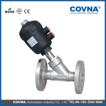 Pneumatic piston Angle Seat Valve(SS head-flanged)