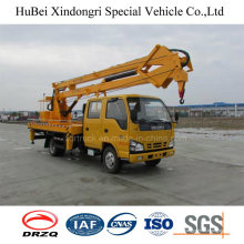 Camión de trabajo de gran altitud Isuzu de 18m