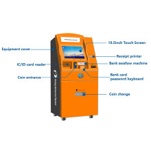 Parking Solution of Automatic Payment Machine with Banknot and Coin Payment for Parking System