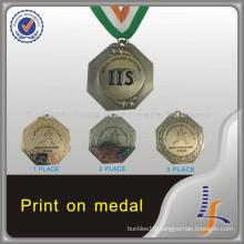 2016 Souvenir Antique Gold Running Medal